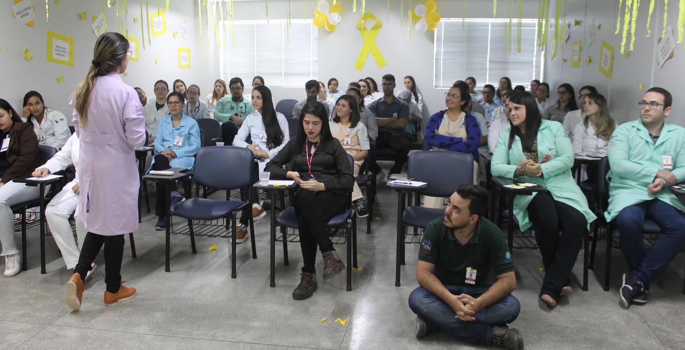 Hospital Mestre Vitalino vivenciou programação alusiva ao Setembro Amarelo