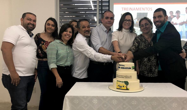 HMV recebeu homenagem pela parceria com Hospital São Sebastião